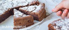 Deze taart op basis van chocolade en amandelen is een klassiek Italiaans recept en tevens glutenvrij