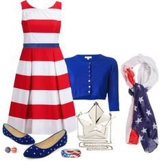 """""""4th July"""" by ivanyi-krisztina on Polyvore"""