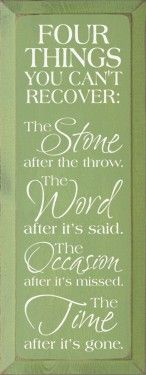 The stone after it's thrown.. I like that one the best