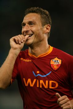 Francesco Totti - Il Gladiator, the great captain, a living legend.
