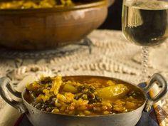 Receta Plato : Guiso de arroz con acelgas por Delicatessendiferentes