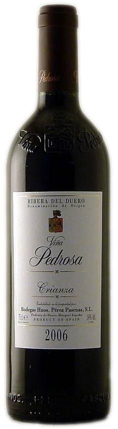 Viña Pedrosa Crianza 2008 $15.85