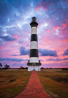 Bodie Island Lighthouse Sunrise Obx Outer Banks Nc - The Gatekeeper