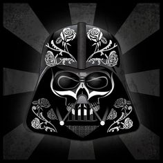 Day of The Dead Darth Vader Iron on T Shirt Transfer Style DOFD09 | eBay