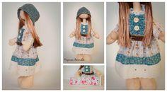 Марина Хохлова: МК съемное платье для куклы снежки