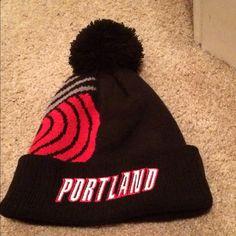 Portland Trail Blazers Beanie Fun Blazer Beanie! Practically new! Accessories Hats