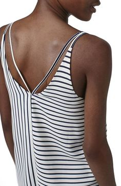 Topshop Stripe Double Strap Camisole at Nordstrom.com.