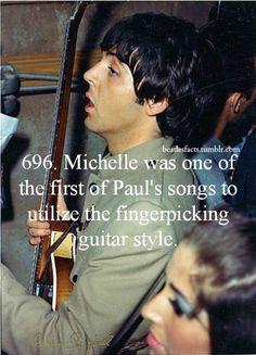 Beatles Facts! Michelle.