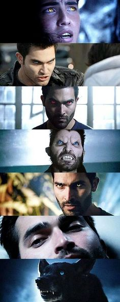 The evolving of Tyler Hoechlin/Derek Hale through out Teen Wolf :)