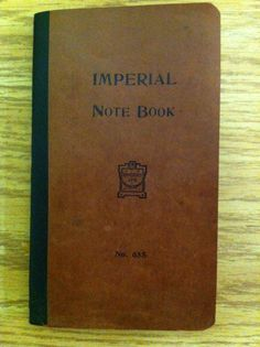 small notebook antique - Google Search