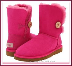 Ugg Australia Bailey FRUIT PUNCH Button Perf Boots Size: 6/EU37/ ORDER DOWN