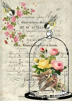 Great image for jewelry making--or decoupage maybe? Images Vintage, Art Vintage, Vintage Pictures, Vintage Paper, Vintage Prints, Shabby Vintage, Vintage Labels, Vintage Ephemera, Vintage Cards