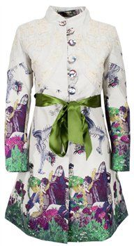 Desigual Electric Dreams Coat, Menarys, Northern Ireland.  Inspired by The Cirque Du Soleil,  Desigual 2012 Spring/Summer collection