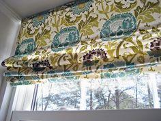 римские шторы из жалюзи