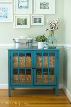 Little Bits of Home: Dining Room Organization