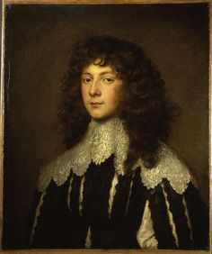 Portrait du Colonel Lord Charles Cavendish, second fils du second comte du Devonshire, 1637 Sir Anthony van Dyck