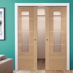 Bespoke Pocket Door sets for those with odd opening sizes, with our beautiful range of doors from XL Joinery you can be sure that only the highest of quality is provided. Double Pocket Door, Pocket Door Frame, Glass Pocket Doors, Oak Doors With Glass, Solid Oak Doors, Glass Door, Oak Front Door, Feature Wall Bedroom, Veneer Door