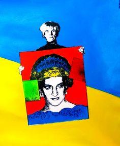 by Andy Warhol Andy Warhol Pop Art, Andy Warhol Obra, Pittsburgh, Andy Warhal, Modern Art, Contemporary Art, Photo Star, Pop Art Movement, Paint Photography
