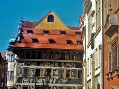 Kafka's House Casa de Kafka na Cidade Velha, em Praga