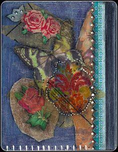 "New ""Roses"" Journal - Back Mooly Alexander"