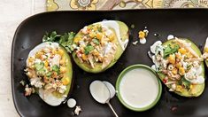 Avocado stuffed with Chicken, Radishes, Feta and Cilantro - The ultimate no-cook summer meal, these stuffed avocados are refreshing and light but also deliciously satisfying. Round out the meal with a salad on the side. Costco Chicken, Chicken Recipes, Cilantro Recipes, Salad Recipes, Roasted Salmon, Roasted Chicken, Fresh Lime Juice, Daily Meals, Summer Recipes