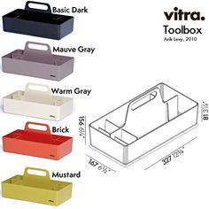 Quasi Modo Modern Furniture › Vitra Decorative Toolbox