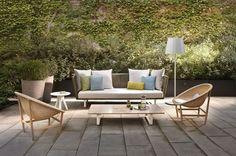 Hommage au design danois des années 50 avec ce fauteuil en bois - Quel meuble de jardin déco et design choisir ? - CôtéMaison.fr