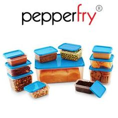 All Time Polka Kitchen 11 Pcs Set Blue Colour  at Rs.175 – Pepperfry