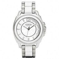 Coach :: Boyfriend Mixed Media Bracelet..luv this watch