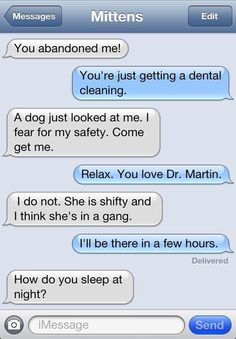 Texts from Mittens the Cat | Catster