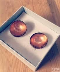 Image result for copper cufflinks