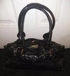 Chloe Paddington Black Leather Handbag Italy Satchel Purse Fashion Clothing Shoes Accessories Womensbagshandbags Ebay Link