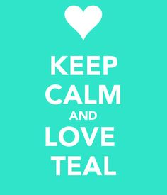 Teal is the color of food allergy awareness #tealtakeover