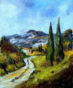 Provence 56, painting by artist ledent pol