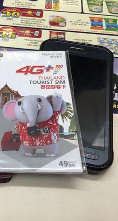 Mobiles Internet: Tourist SIM-Karte in Thailand (Blogpost)