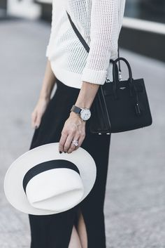 Marble Minimalist Watch - Black