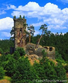 Gutštejn Castle - the Ruin, Czech Republic. Travel right with new trends at PrimaHotels.Com