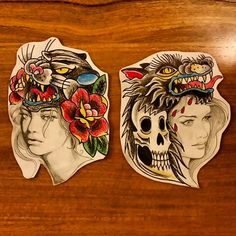 More pretty pictures by apprentice Heather Bradley. #flash #art #tattoo #flash #tattooing #ap-prentice #artwork #infreo #fremantle #freo