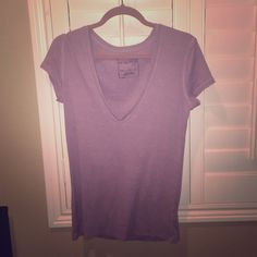 Free people lilac vneck In great condition, selling because this does not fit. Unlike most free people, this runs tts, possibly even a medium best. Free People Tops