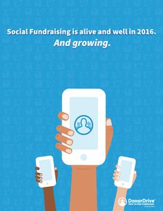 Infographic: Social fundraising is alive and well in 2016. And growing…