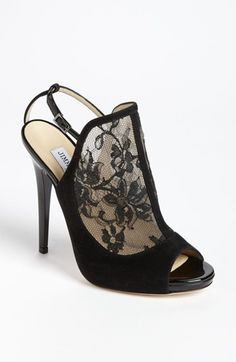 Lovely lace Jimmy Choo Maylen Bootie <3
