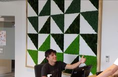 21+ Interesting Interior Moss Wall Design Ideas #PlantedDesign #MossWall #MossWalls #MossBoss #CustomDesign #MossBoss #SmallBusinessWeek #WomanOwnedBusiness #Gusto #PlantWall #PlantPowered #SustainableLiving #HousePlants #ReconnectWithNature #OfficePlants #GreenSpacesInUrbanPlaces #supportsmallbusinesses Ed Design, Wall Design, Design Ideas, Small Business Week, Stone Panels, Moss Wall, Office Plants, Reception Areas, Cafe Interior