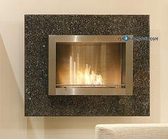 SHOP-PARADISE.COM:  Kamin Wandkamin Ethanol, Edelstahl Granit poliert 1 999,99 €