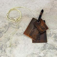 A personal favorite from my Etsy shop https://www.etsy.com/listing/400837167/everyday-chic-stamped-copper-jewelry