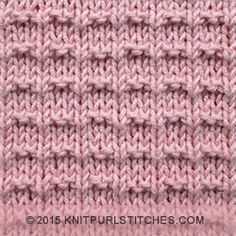 If you're a beginner knitter and need a easy pattern to start out with, the Ridge Rib stitch is for you.