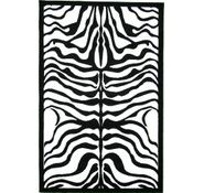 Zebra rug...perfect for the DIVA's room
