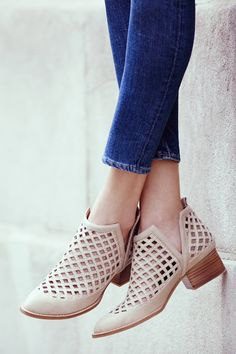 Jeffrey Campbell Taggart Booties - anthropologie.com