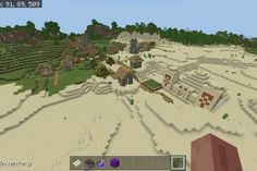 Click on the photo to visit www.tanishascraft.com and get the seed #, coordinates, photos, and video of the seed. Desert Temple, Biomes, Better Together, Windows 10, Vr, Nintendo Switch, Xbox, Minecraft, Seeds
