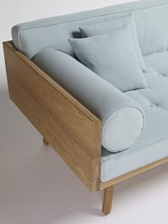 Sofa One Another Country - Contemporary Oak Furniture made to last from FSC certified solid wood by Another Country Entry Furniture, Diy Furniture Couch, Furniture Making, Furniture Design, Furniture Repair, Diy Sofa, Sofa Design, Design Design, Wood Sofa