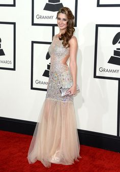 56th GRAMMY Awards Fashion – Best Dressed Red Carpet Trends